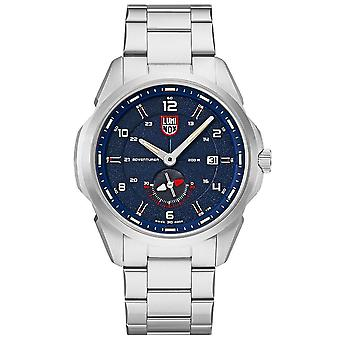 Luminox Adventurer Field Automatic Blue Dial Stainless Steel Strap Mens Watch XL.1764