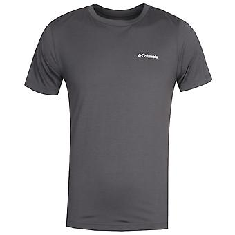 Columbia Maxtrail dunkelgrau Logo T-Shirt