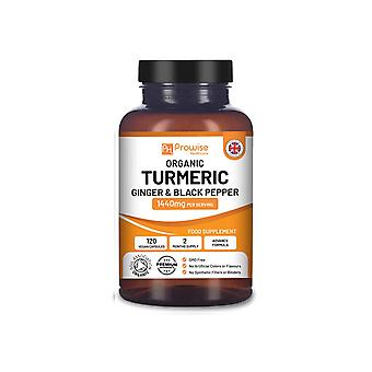 Turmeric Curcumin 1440mg with Black Pepper & Ginger | Made In UK
