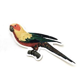 Vintage Papagal vinil Autocolant