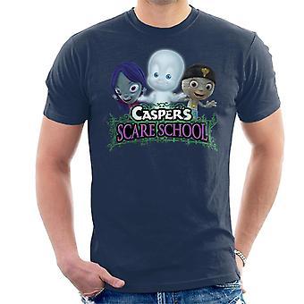 Casper The Friendly Ghost Scare School Men's T-Shirt