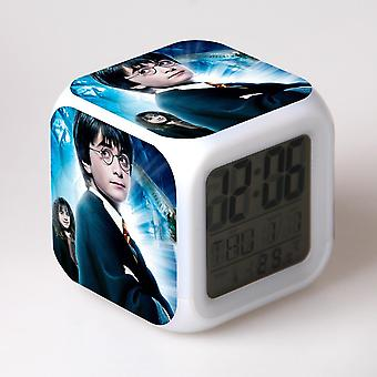 Colorful Multifunctional LED Children's Alarm Clock -Harry Potter #6