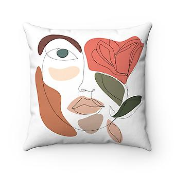 She Sees Everything Square Pillow