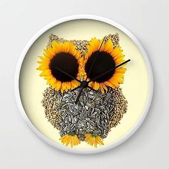 Hoot! Day Owl! Wall Clock