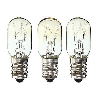 Ac 220-230v Edison žiarovka E14 15w Chladnička Chladnička žiarovka (3 ks 15w E14)