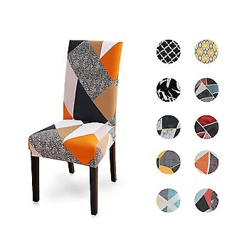 Soft Spandex, Printed, Universal Chair Cover For Dining Room, Wedding Banquet,