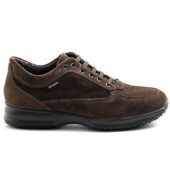 Zapatos para Hombre Igi&co Trav Time Brown Ante Con Gore-tex