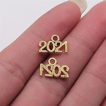 Diy Prívesok Charms šperky Tvorba rok číslo 2021