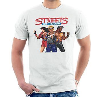 Sega Streets Of Rage Pixelated Tegn Menn's T-skjorte