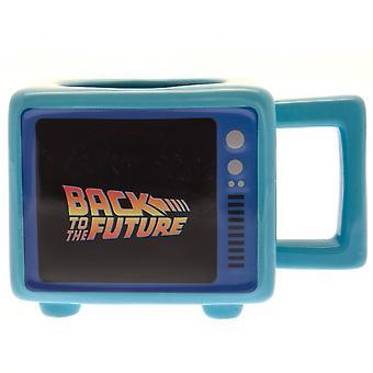 Back To The Future Ceramic Heat Changing Mug