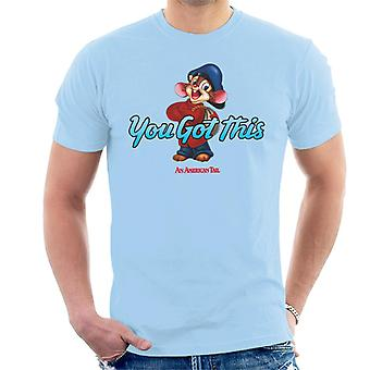 An American Tail Fievel Mousekewitz You Got This Men's T-Shirt