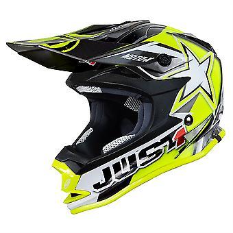 Just1 J32 Pro Kids ACU Gold MX Helmet - Yellow