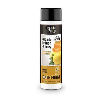 Honey and Lemon Body Bath Foam 500 ml