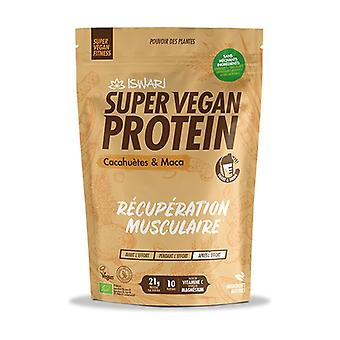 Super Vegan Protein Peanuts and Maca 875 g of powder