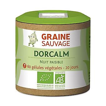 Organic Dorcalm 60 capsules of 325mg