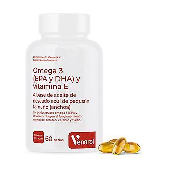 Omega 3 (Epa och Dha + Vit E) 60 softgels