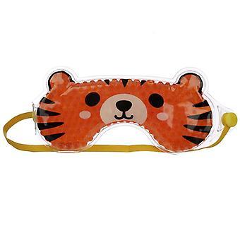 Máscara de olho de gel divertido - tigre cutiemals