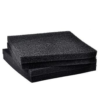 Black Filtration Foam, Aquarium Fish Tank, Biochemical Filter Sponge Pad,
