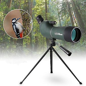 20-60x60mm Waterproof Zoom Spotting Scope Monocular Birdwatching Telescope Tripod
