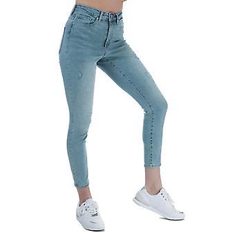 "Mujer"", Vero Moda Sophia High Waist Skinny Fit Jeans en azul"