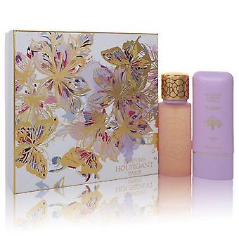 Quelques Fleurs Royale Gift Set By Houbigant 3.3 oz Eau De Parfum Spray + 5.1 oz Body Lotion
