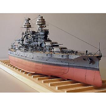 Uss Arizona Bb-39 Battleship Card Paper Model Kit Puzzles Toy