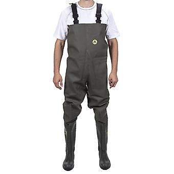 Amblers tyne chest safety waders womens