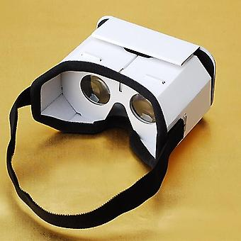 Diy Portable Virtual Reality Glasses, Google, Cardboard 3d Vr For Smartphones,