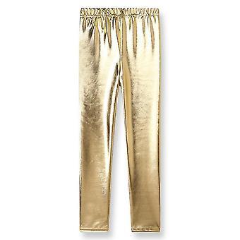 Осенний ребенок Leggings Золотые брюки Leggings