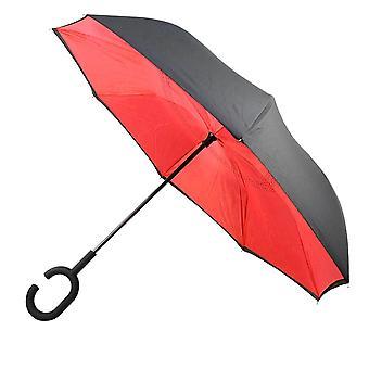 逆折り傘 - 赤
