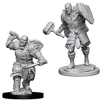 D&D Nolzur's Marvelous Unpainted Minis Male Goliath Fighter (Pack of 6)