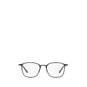 Ray-Ban RX6466 matta musta musta unisex silmälasit