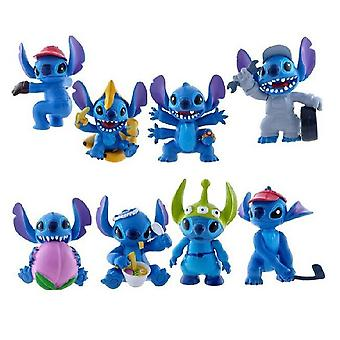 8pcs Stitch Delicious Food Type Figure Toy