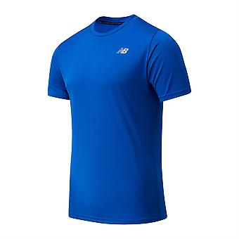 New Balance Mens SS Run T-shirt Short Sleeve Performance T-Shirt T Shirt Tee Top