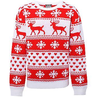 Christmas Shop Womens/damer nordiska Jumper