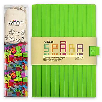 Spara Journal Combo Kit - Green / Large