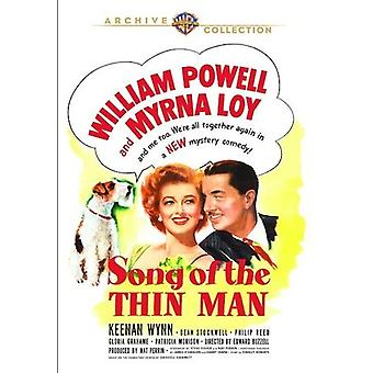 Song of the Thin Man (1947) [DVD] Usa:n tuonti