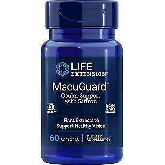 Life Extension MacuGuard Ocular Support Softgels 60