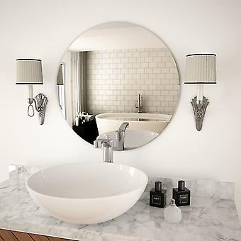 vidaXL wall mirror 60 cm Round glass