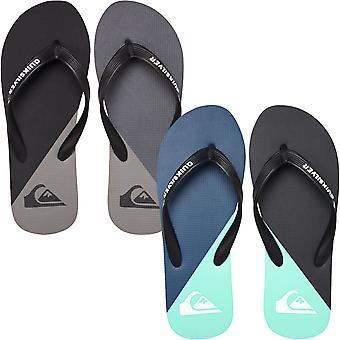 Quiksilver Mens Molokai New Wave Summer Beach Sandals Thongs Flip Flops