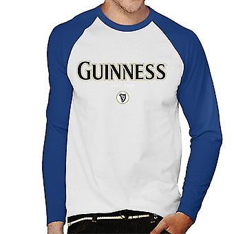 Guinness Ireland Slogan Men's Baseball Long Sleeved T-Shirt