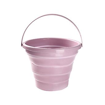 Plastic Bucket Super Mini Sqare Collapsible Foldable Square Tub Portable