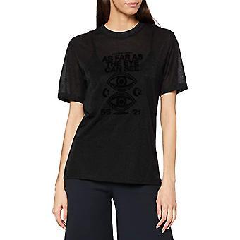 Scotch & Soda Artwork-T-Shirt aus LENZING ECOVERO-Mischung, 0217 Combo A, XL Kvinna