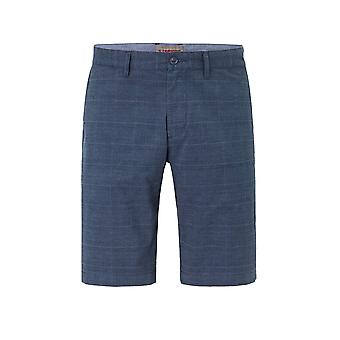 Redpoint Red Point Surray Check Shorts Blue Check