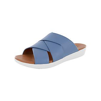Fitflop Femmes Annah Novaweave Slide Cuir Sandal Chaussures