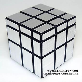 Sengso Shengshou 3x3x3 Puzzle Magico Cubo 3 x 3 glatten Spiegel Würfel Zauberwürfel 5,7cm twisty Puzzle Würfel Spielzeug für Kinder Kinder