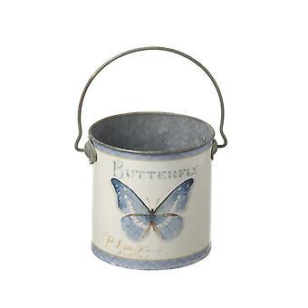 Cream Butterfly Pot By Heaven Sends