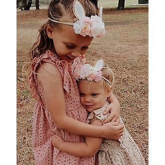 Lovely baby girls headband rabbit ear