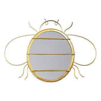 Sass & Belle Gold Bee Mirror & Korujen ripustin