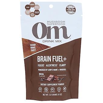Organic Mushroom Nutrition Brain Plus Fuel Mocha, 4 Oz